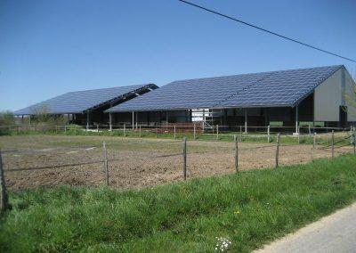 Manèges équestres - 2 x 100 kWc