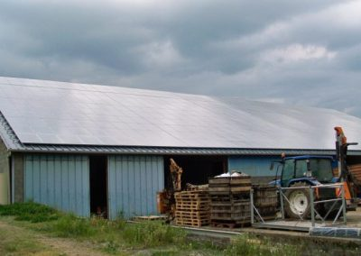 Bâtiment agricole - 95 kWc