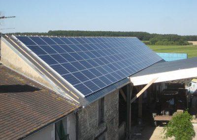 Hangar agricole - 36 kWc