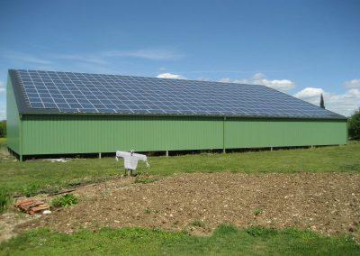 Hangar agricole - 76 kWc