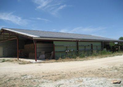 Hangar agricole - 122 kWc