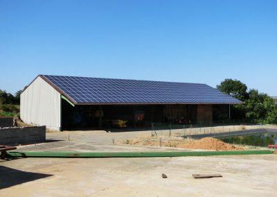 Hangar agricole - 74 kWc