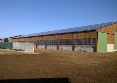 Hangars agricoles - 2 x 100 kWc
